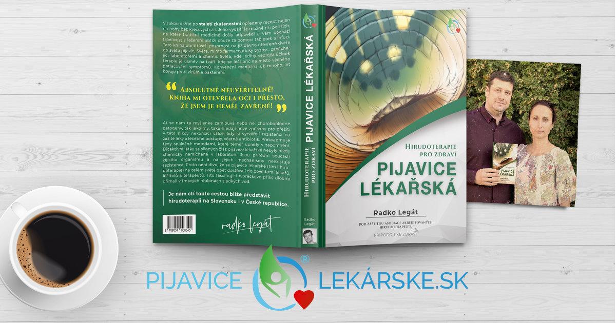 Kniha Pijavica lekárska pre praktické použitie